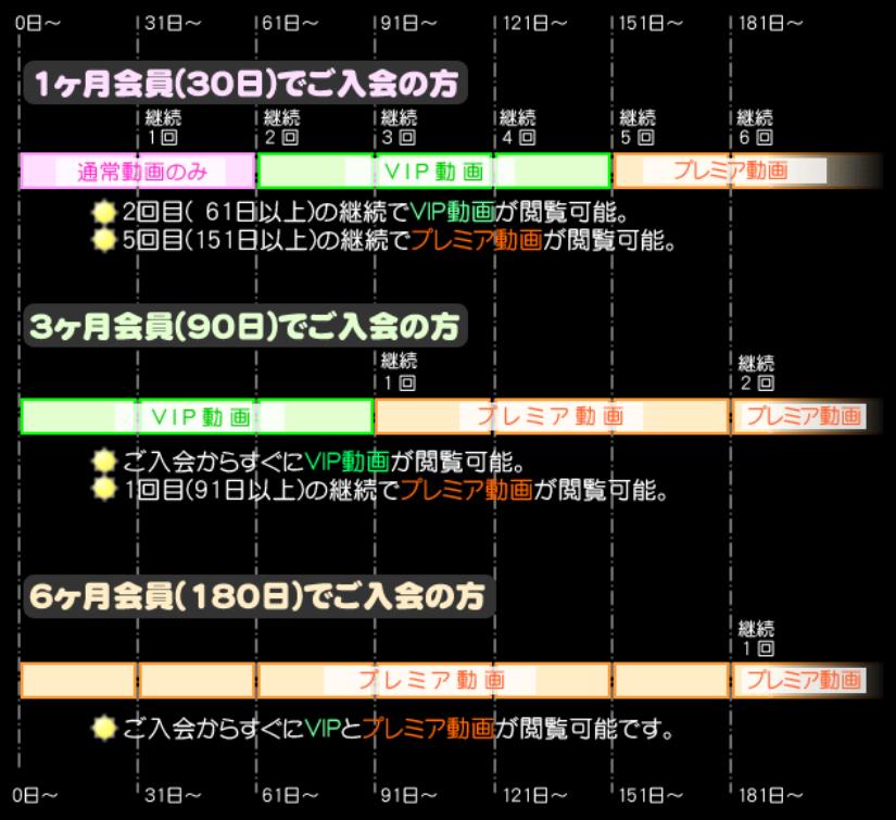 のぞきザムライの3つのプラン種類