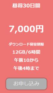 TOKYO-HOT(東京熱)の昼得プラン30日間