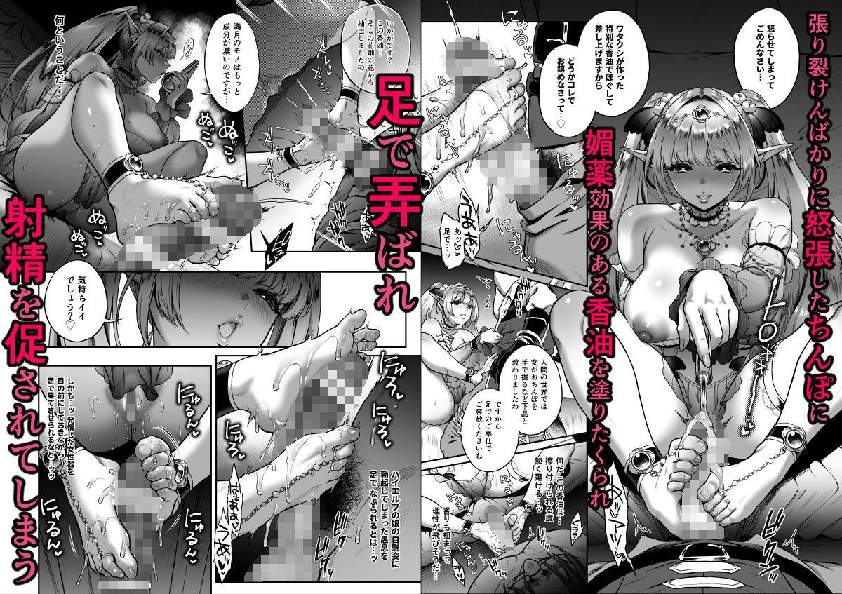 悠久の娼エルフ3「夢幻」前編3(同人エロ漫画)